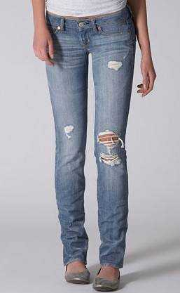 Як зробити рвані джинси своїми руками 4817c2df7d719